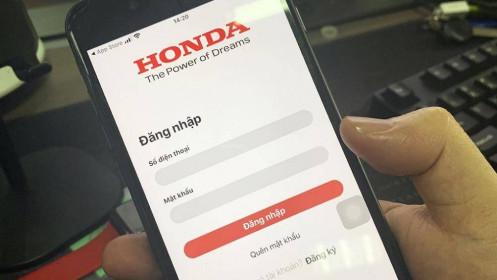 """Honda phát triển ứng dụng di động """"My Honda+""""cho người dùng Việt Nam"""
