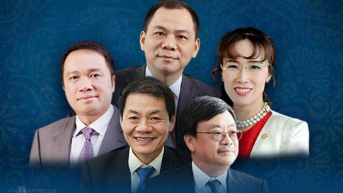 Cuối năm biến động, điểm lại khối tiền của tỷ phú USD Việt Nam