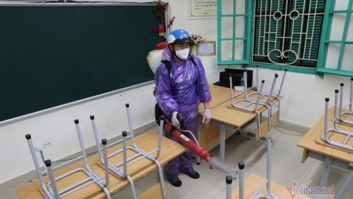 Hà Nội tiếp tục cho học sinh nghỉ thêm 1 tuần