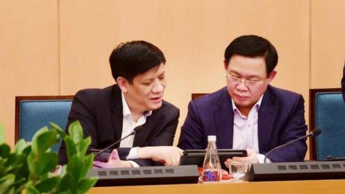 Chưa đầy 24 giờ, Hà Nội họp cuộc thứ 3 để chống Covid-19