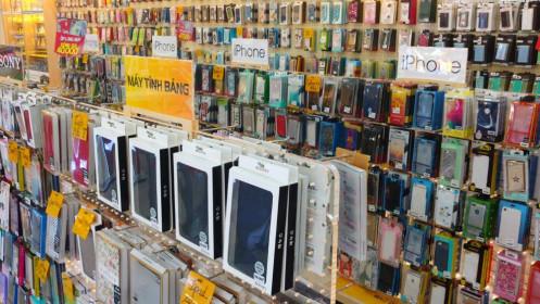 Các cửa hàng điện thoại và đồ điện tử ở TP Hồ Chí Minh không phải đóng cửa vì Covid-19