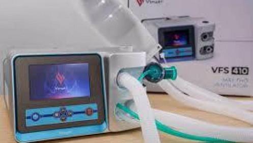 Vingroup hoàn thành 2 mẫu máy thở phục vụ điều trị COVID-19, sau hơn 3 tuần công bố