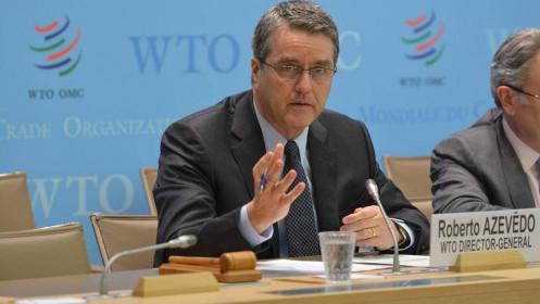 Tổng Giám đốc Tổ chức Thương mại thế giới bất ngờ từ chức