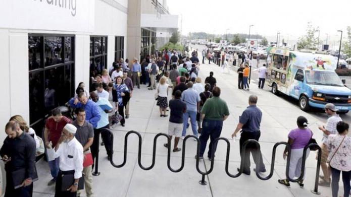 Tỷ lệ thất nghiệp ở Mỹ giảm xuống 11,1%  trong tháng 6