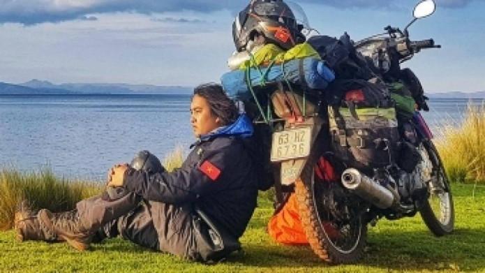 1111 ngày vòng quanh thế giới bằng xe máy, 'phượt thủ' Trần Đặng Đăng Khoa: Càng đi càng thấy mình 'hai lúa', kiến thức hạn hẹp...