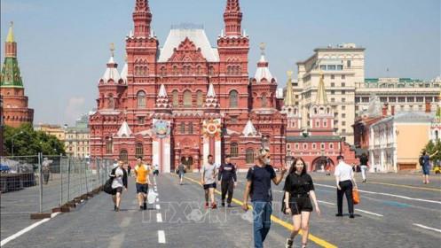 Kinh tế Nga sụt giảm 8,5% trong quý II