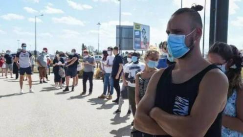 Pháp lại phá kỷ lục về số ca nhiễm SARS-CoV-2 từ tháng 5