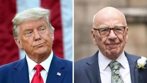 Trùm truyền thông Murdoch làm cách nào để giàu gấp 8 lần ông Trump?