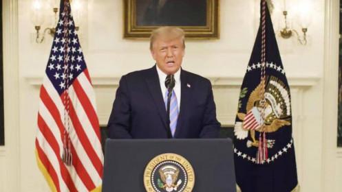 [Video] Ông Trump thừa nhận ông Biden chiến thắng
