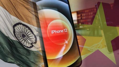 Apple đẩy mạnh sản xuất iPhone và iPad tại Việt Nam và Ấn Độ