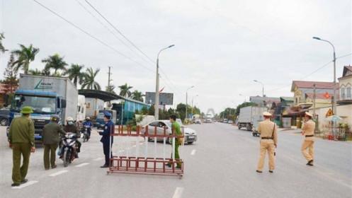 Quảng Ninh phong tỏa xã Bình Dương thuộc thị xã Đông Triều từ 12h hôm nay