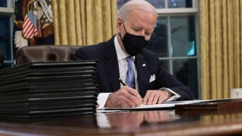 Tổng thống Biden thu hồi sắc lệnh xây dựng tường biên giới với Mehico