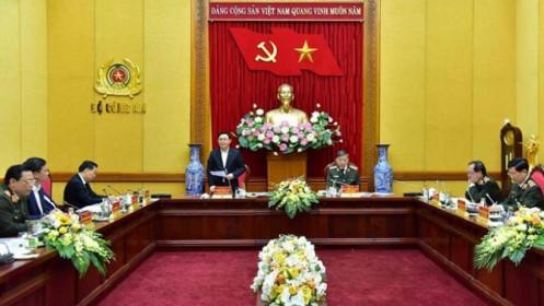 Bộ Công an làm việc với Hà Nội về xây dựng trụ sở cơ quan Công an