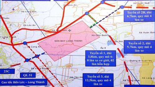 Sẵn sàng vốn cho 2 tuyến đường kết nối sân bay Long Thành