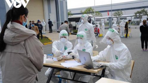 Trung tâm Y tế Hải Dương và Kim Thành là những địa điểm tiêm vaccine đầu tiên ở Hải Dương