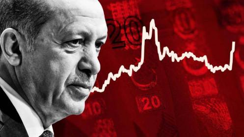 Thị trường tài chính Thổ Nhĩ Kỳ đồng loạt lao dốc sau cú sốc sa thải Thống đốc NHTW