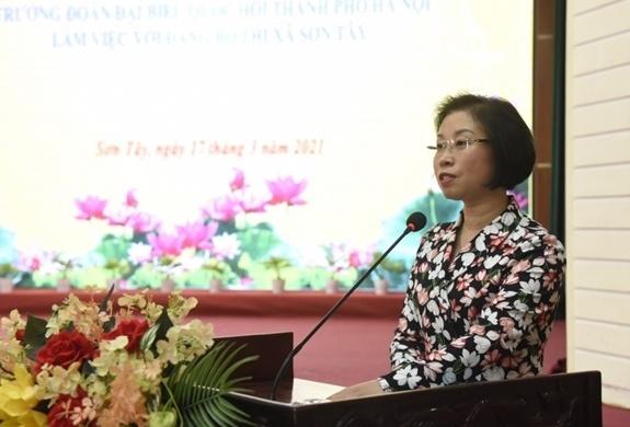 Đề xuất nghiên cứu thành lập thành phố Sơn Tây