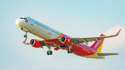 Cấp quyền vận chuyển hàng không trên các đường bay nội địa cho Vietjet