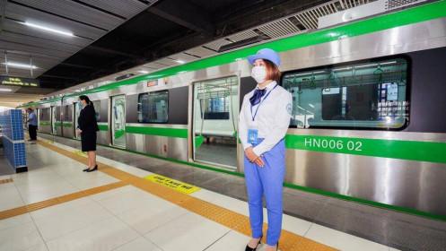 Đường sắt Cát Linh - Hà Đông sẽ vận hành thương mại cuối tháng Tư