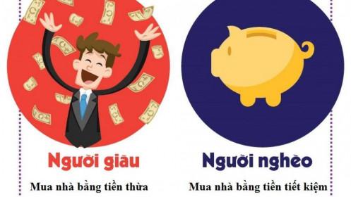 Cách mua nhà của người giàu và người nghèo khác nhau như thế nào?