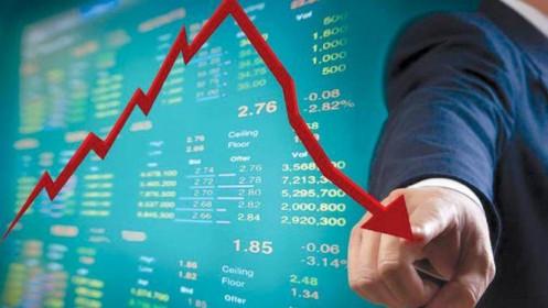 Bán tháo tưng bừng, VN-Index bốc hơi trên 40 điểm