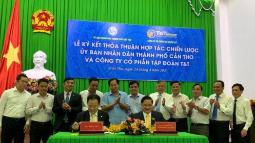 Cần Thơ ký hợp tác chiến lược với Tập đoàn T&T