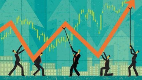 Động lực thị trường chứng khoản vượt đỉnh 1300 điểm