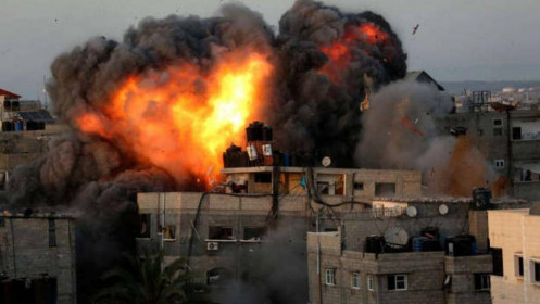Israel đối mặt tỷ lệ rocket trong ngày từ Dải Gaza cao nhất trong lịch sử