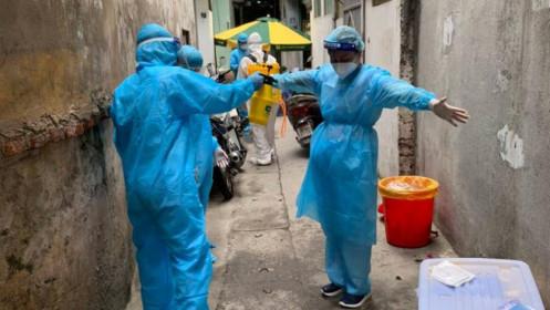 Phong tỏa tạm thời 22 hộ ở phường Khương Trung (quận Thanh Xuân)