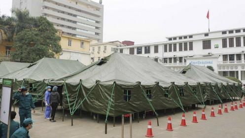 Thực hiện 4 tại chỗ phân công ít nhất 1 bệnh viện địa phương làm bệnh viện dã chiến