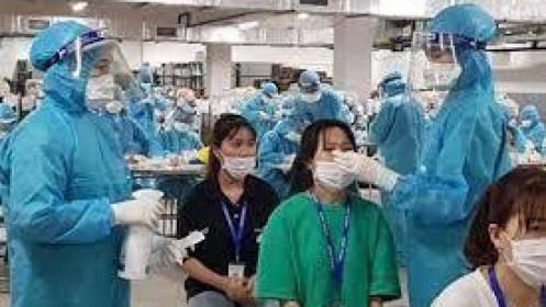 Tối 26/5: Thêm 115 ca mắc COVID-19, riêng Bắc Giang và Bắc Ninh 103 ca