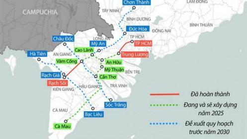 Đề xuất hơn 6.000 tỷ đồng đầu tư cao tốc nối Tiền Giang - Đồng Tháp