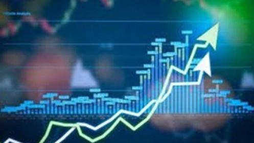 VnIndex tăng rực rỡ hơn 16 điểm, dòng bank hút tiền mạnh