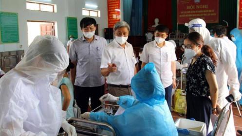 Bắc Giang hoàn thành tiêm 150.000 liều vacccine trong 5 ngày