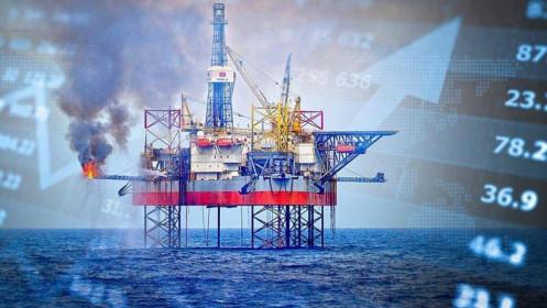 Cổ phiếu dầu khí giảm theo giá dầu, nhà đầu tư khóc ròng