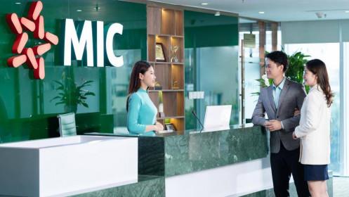Cổ phiếu MIG Bảo hiểm Quân đội tăng 35% chỉ sau ít tháng lên sàn HOSE