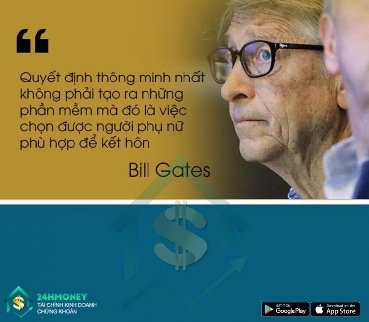 [Troll Chứng] Bill Gates: Đời người đàn ông quan trọng nhất là chọn đúng vợ