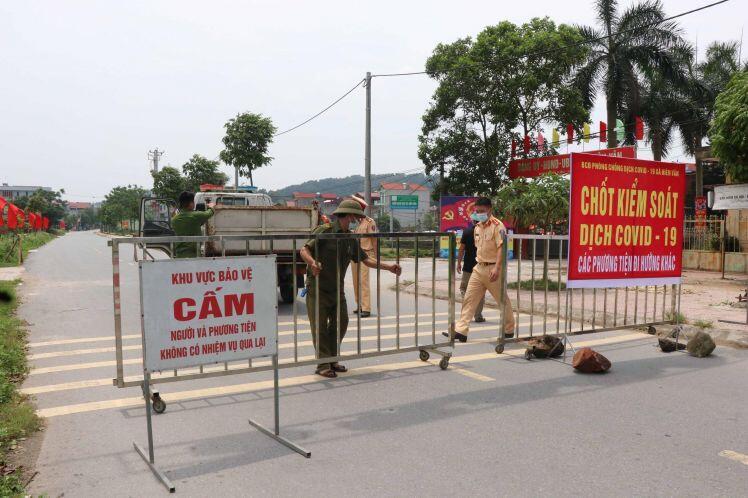 Thêm 14 ca mắc COVID – 19, Bắc Ninh xét nghiệm hơn 15.600 người trong xã