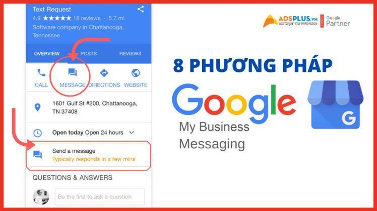 8 phương pháp hay nhất về Google My Business Messaging