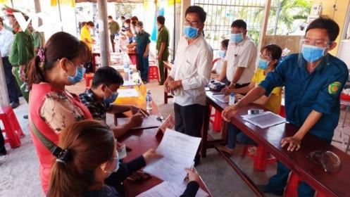 An Giang thực hiện giãn cách toàn bộ Thị trấn Long Bình, huyện An Phú