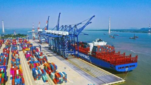 Dù thị trường rực lửa nhưng nhóm cổ phiếu cảng biển, logistic vẫn sắc xanh