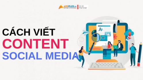 Các cách viết content hay trên mạng xã hội