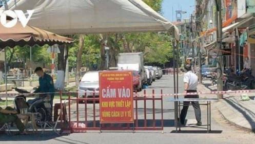 Số F0 trong ngày tại Đà Nẵnglần đầu tiên tăng lên 3 con số