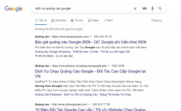 Tất tần tật những điều cần biết về dịch vụ quảng cáo Google Ads