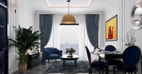 Đầu tư 214 triệu đồng cho nội thất căn hộ phong cách tân cổ điển đầy quyến rũ
