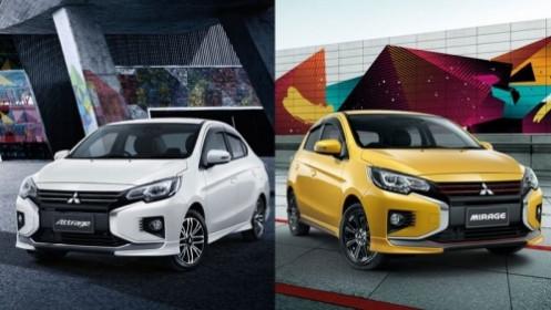 Lộ diện bộ đôi Attrage và Mirage mới của Mitsubishi
