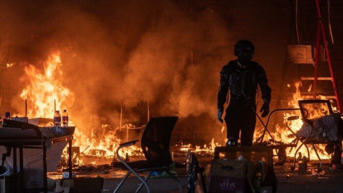 'Nếu biểu tình ở Hong Kong không thể kiểm soát, Trung Quốc sẽ có biện pháp mạnh'