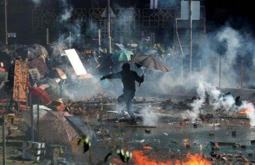 Điểm lại diễn biến chính cuộc biểu tình khiến Hong Kong chìm trong khủng hoảng