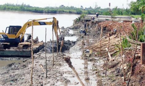 Dự án Chống sạt lở bán đảo Thanh Đa - Đoạn 3 (TP.HCM): Long đong 3 lần chọn nhà thầu