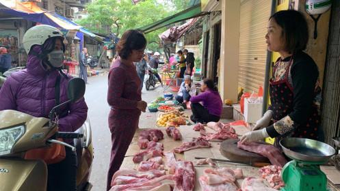 Giá thịt lợn miền Bắc có dấu hiệu 'hạ nhiệt'